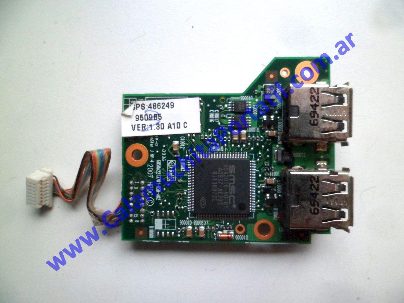 0585PUS Placa USB Compaq 6530b / NA407UC#ABM