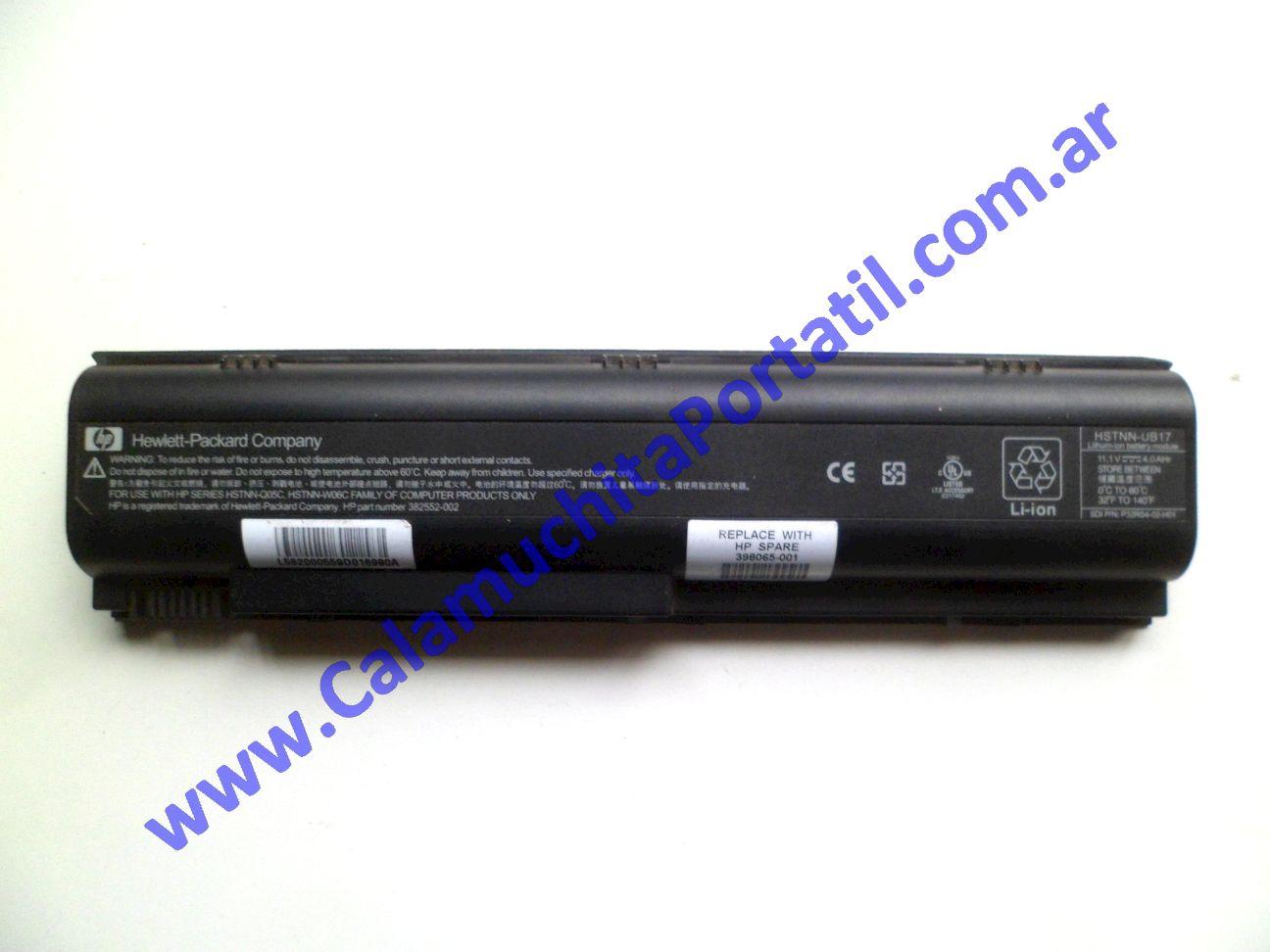0586BAA Batería Compaq Presario V2000 / V2415la / EK572LA#ABM