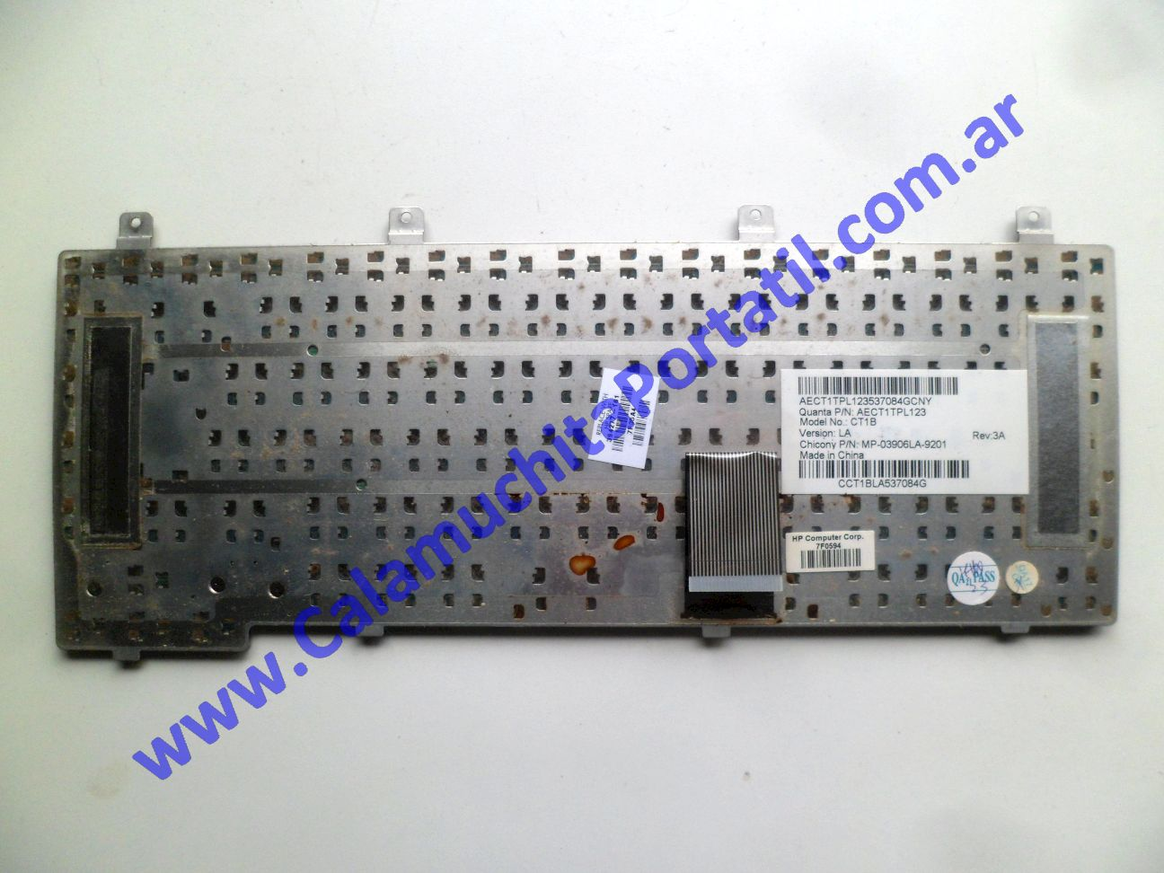 0586KBA Teclado Compaq Presario V2000 / V2415la / EK572LA#ABM