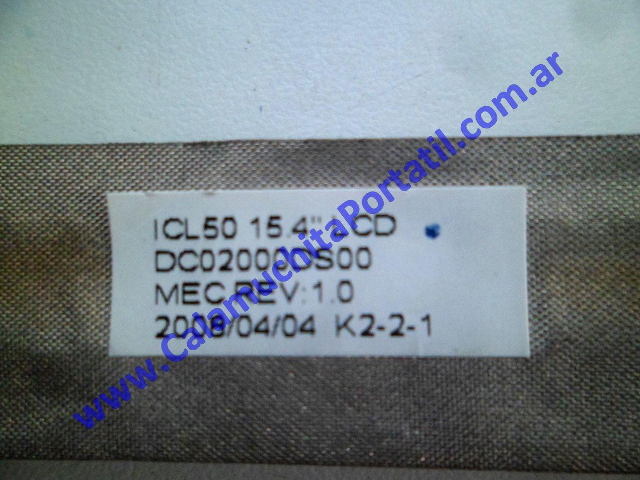 0595FVI Flex Video Acer Aspire 5520-5323 / ICW50