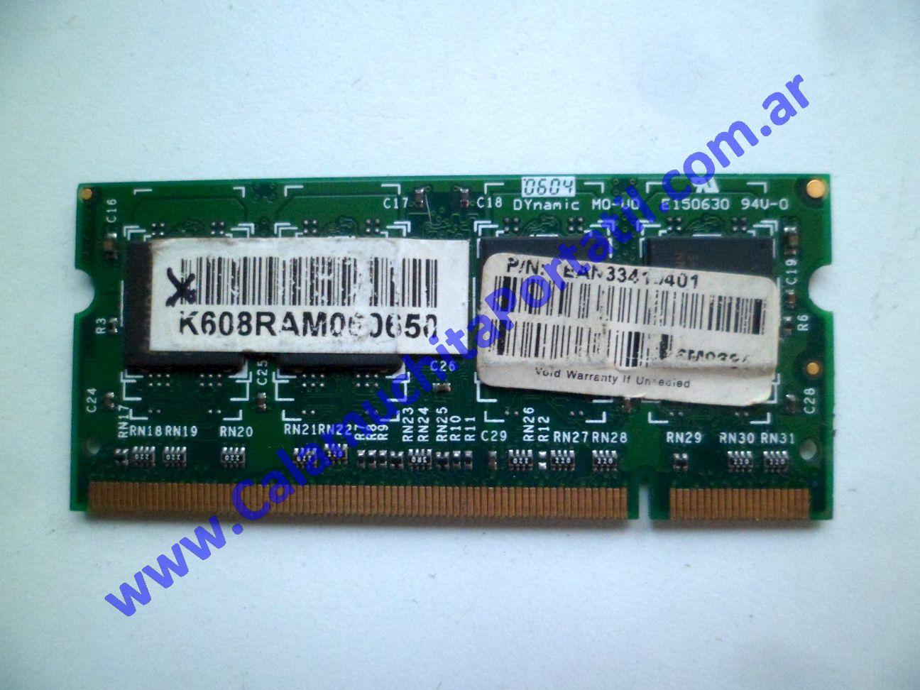 0595NMB Memoria Acer Aspire 5520-5323 / ICW50