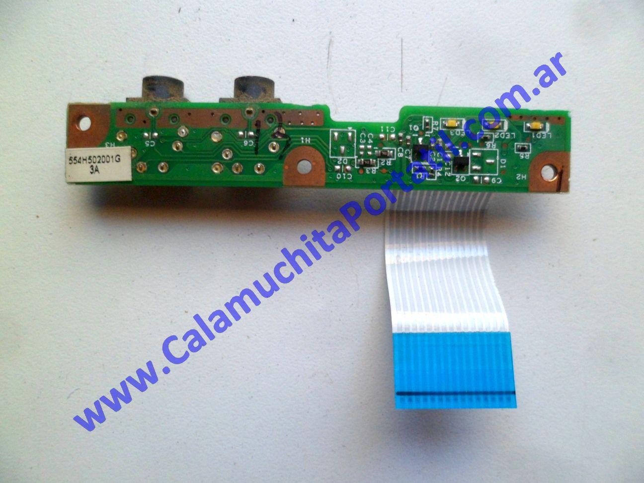 0597PLE Placa Leds Compaq Presario CQ60-112LA / FW968LA#AC8