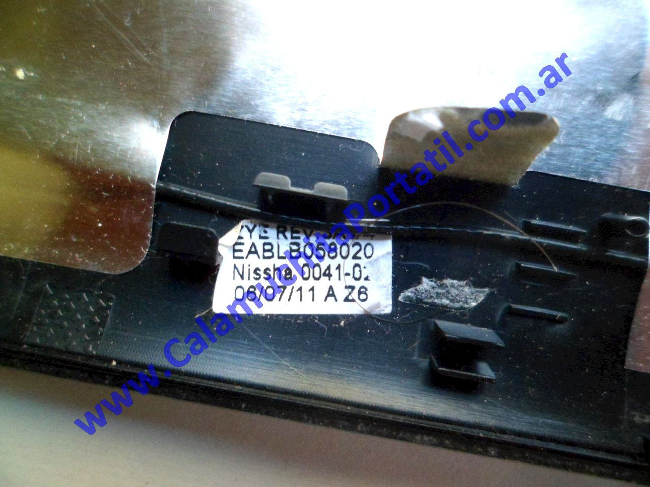 0598CAA Carcasa Tapa Toshiba Satellite L755-S5275 / PSK1WU-04M004