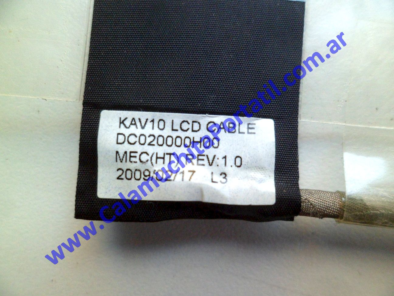 0602FVI Flex Video Acer Aspire One / KAV10
