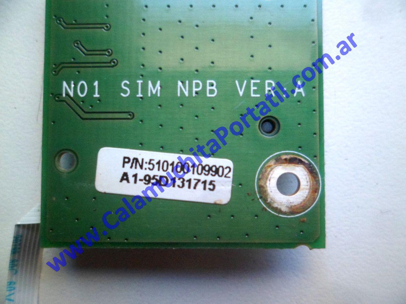 0604PSI Placa Sim Banghó B-N0X1