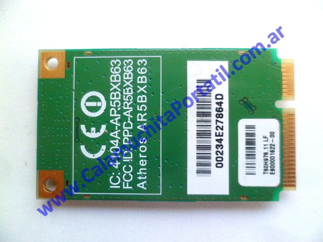 0605PWI Placa Wifi Acer Aspire One 150-1107 / ZG5