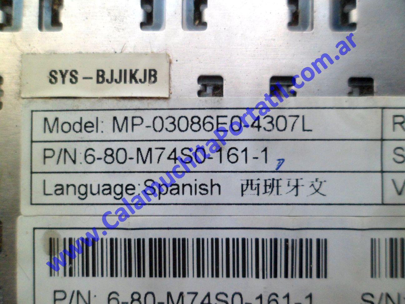 0610KBA Teclado Banghó B-74X0S