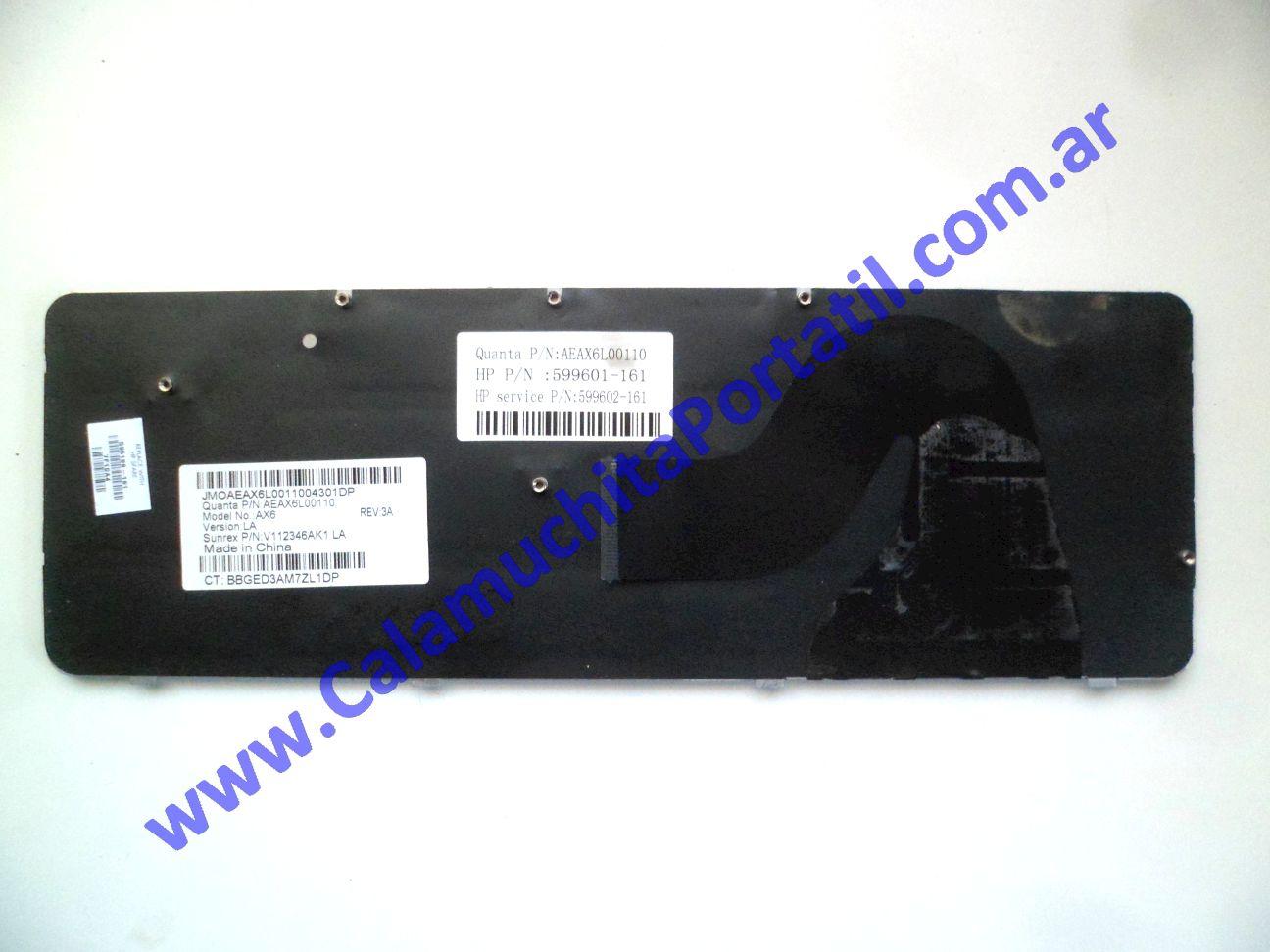 0611KBA Teclado Compaq Presario CQ56-106LA / XR161LA#AC8