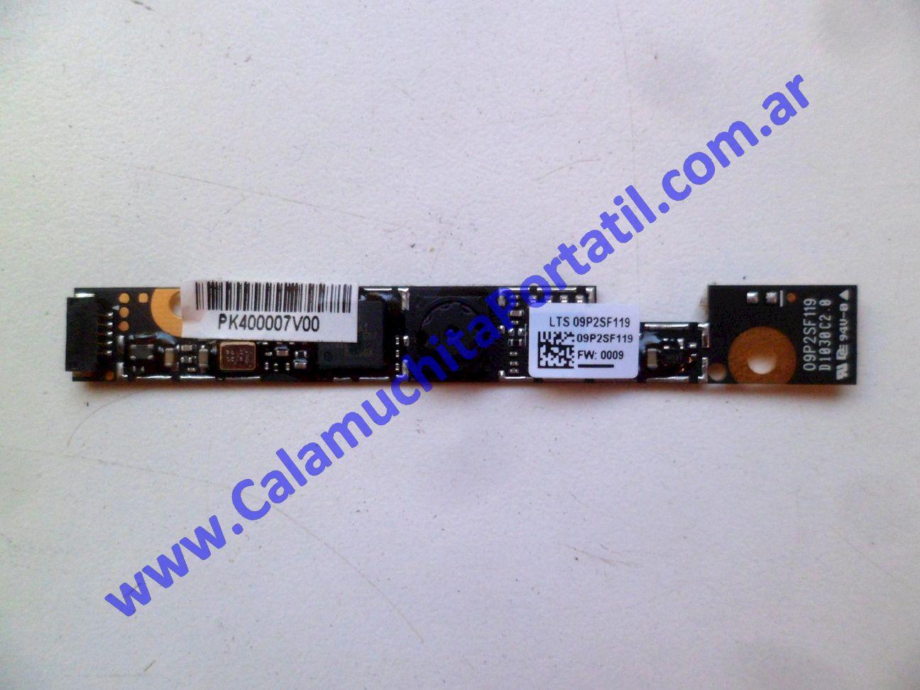 0612WEB Webcam Acer Aspire One D255-2491 / PAV70