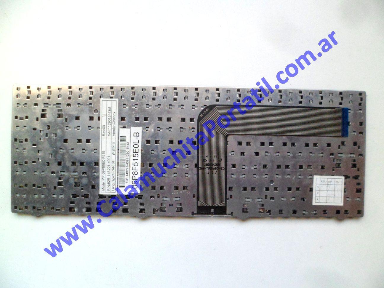 0613KBA Teclado Positivo BGH M-400 – M-430 – C-8197