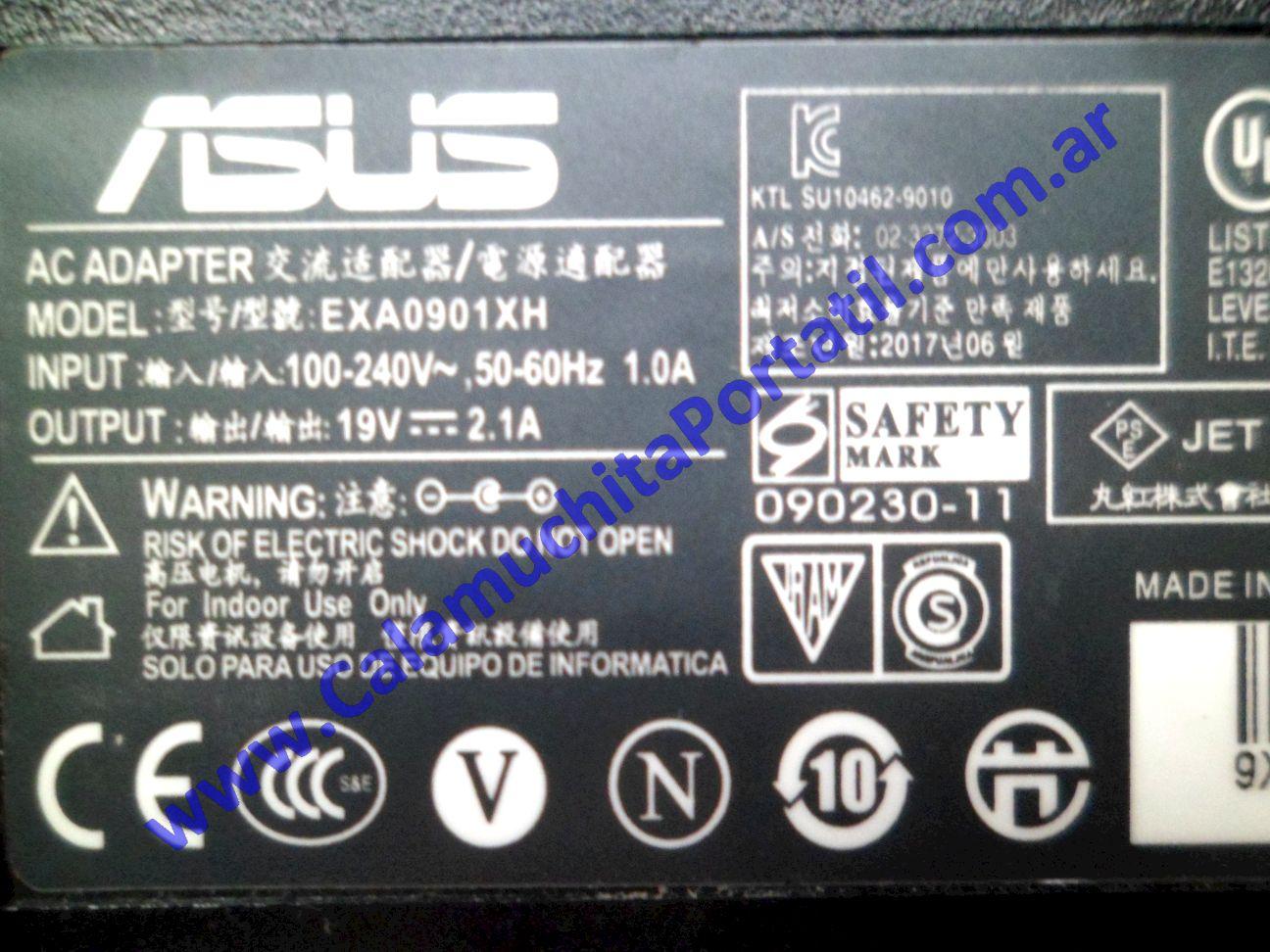 0614RCA Cargador Asus EEE PC 1215b / 1215B-BLK069S