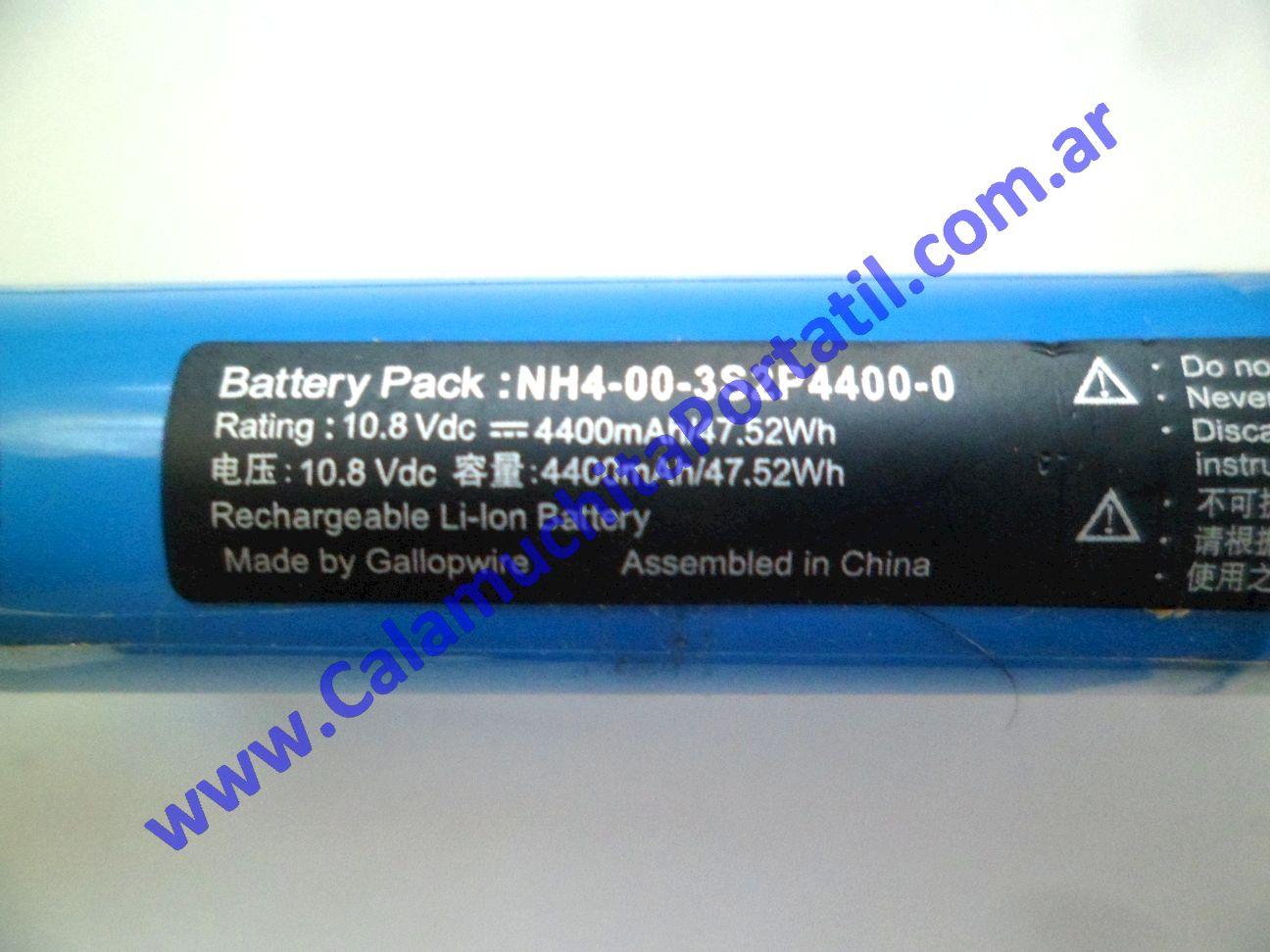 0616BAA Batería Positivo BGH G-800 – G-860 – C-12104