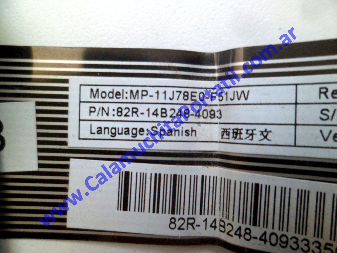 0616KBA Teclado Positivo BGH G-800 – G-860 – C-12104