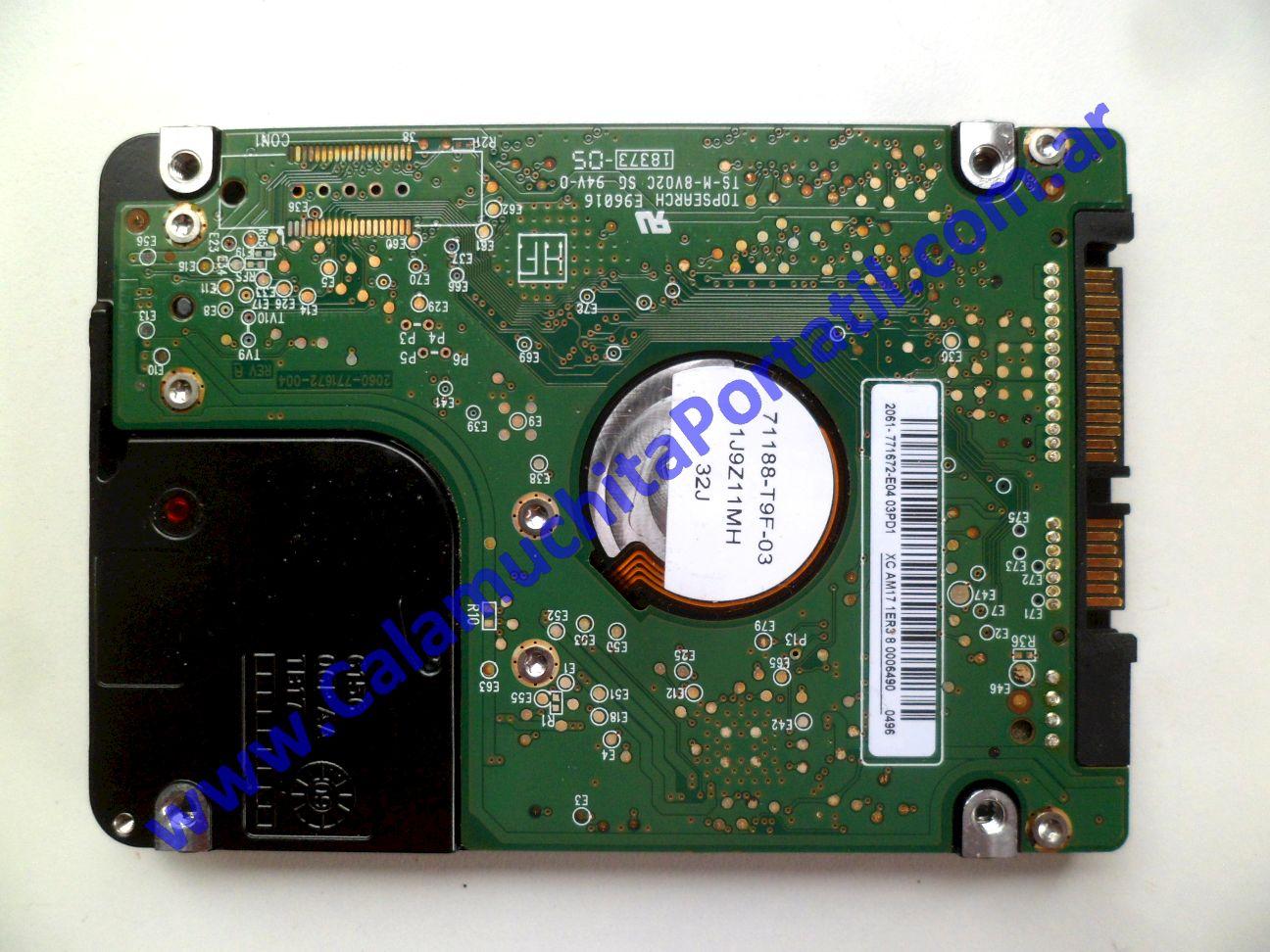 0618HDA Disco Rígido Compaq CQ42-121LA / WX481LA#AC8
