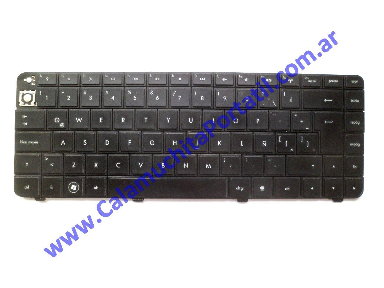 0618KBA Teclado Compaq CQ42-121LA / WX481LA#AC8
