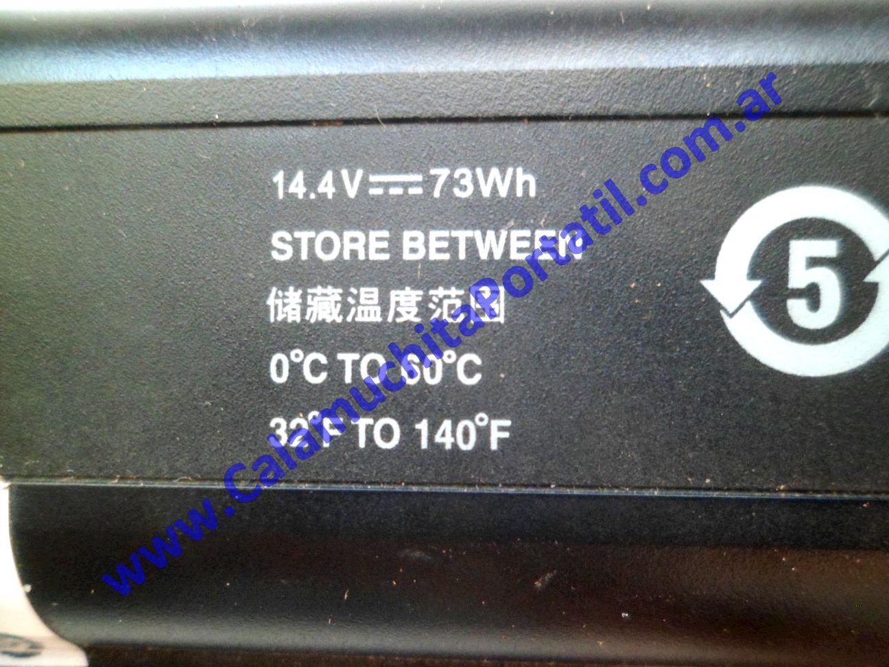0620BAA Batería Hewlett Packard Pavillion dv9000 / dv9700 / dv9910us / FE694UA#ABA