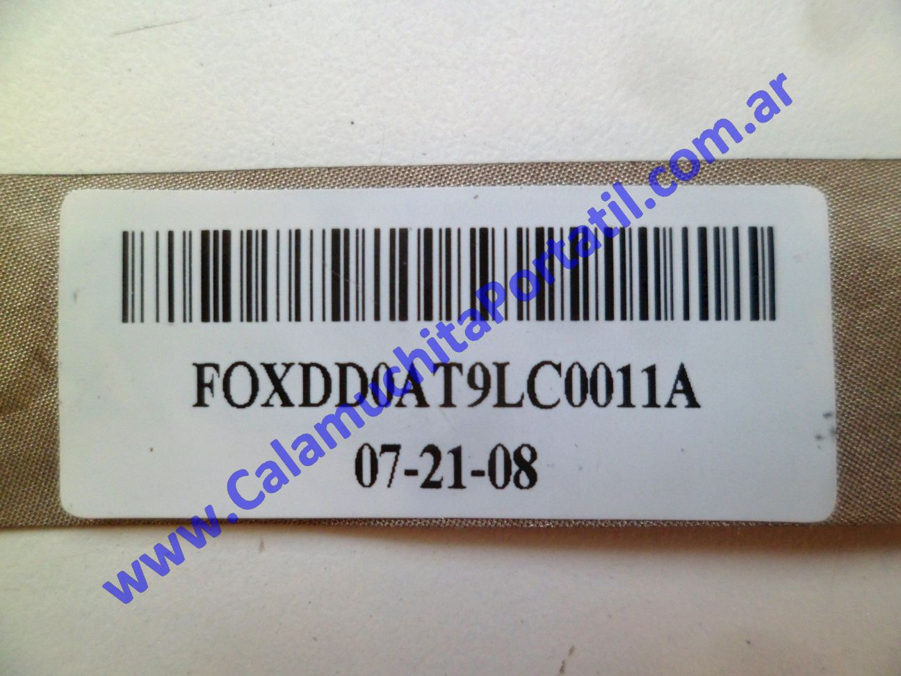 0620FVI Flex Video Hewlett Packard Pavillion dv9000 / dv9700 / dv9910us / FE694UA#ABA