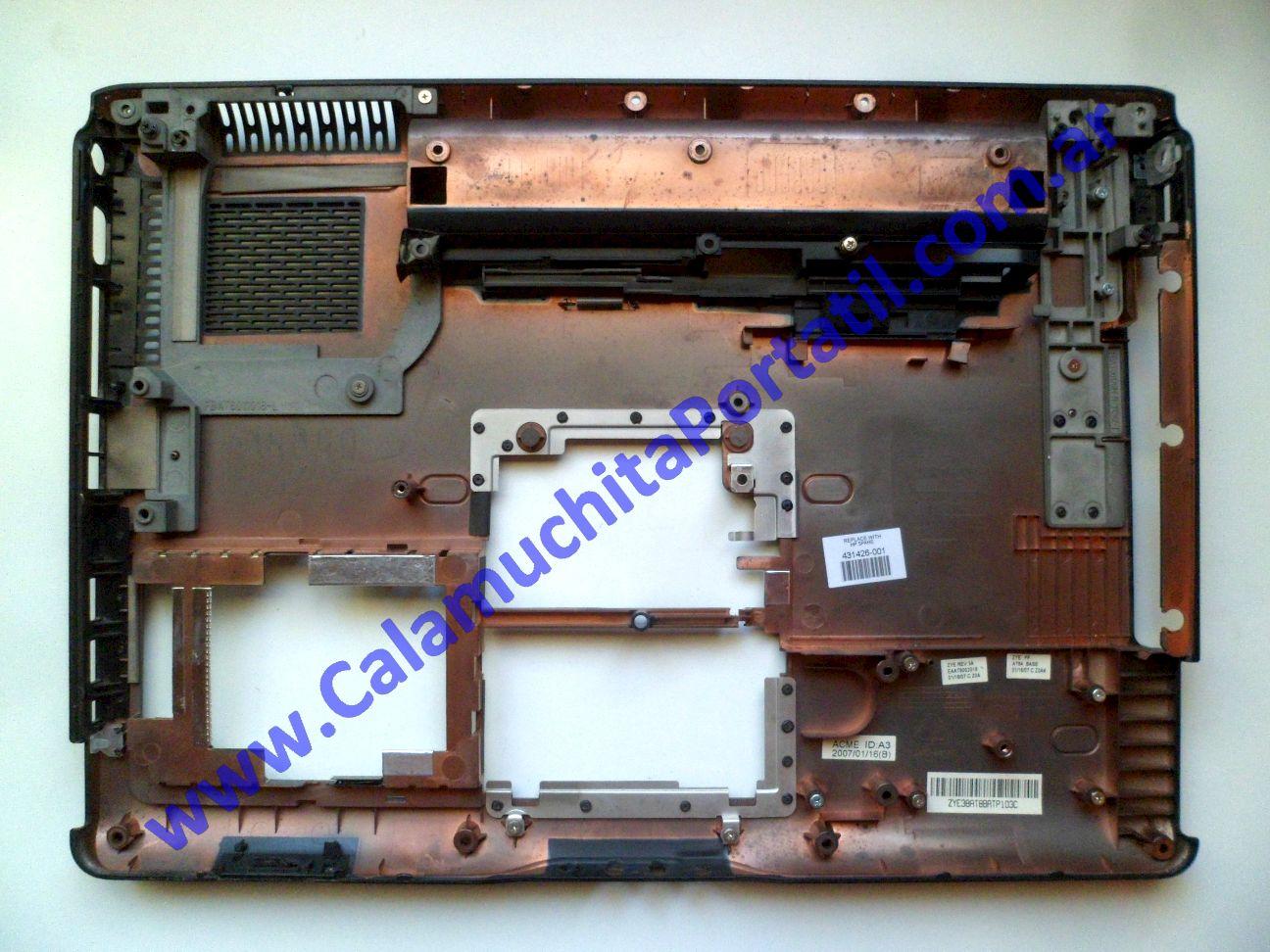 0621CAD Carcasa Base Hewlett Packard Pavillion dv6000 / dv6245us / RP285UA#ABA
