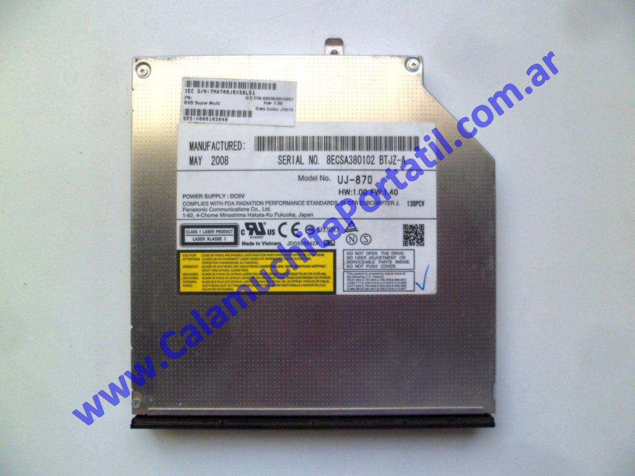 0622OPT Optico Toshiba A215-SP5816 / PSAFGU-07E01M