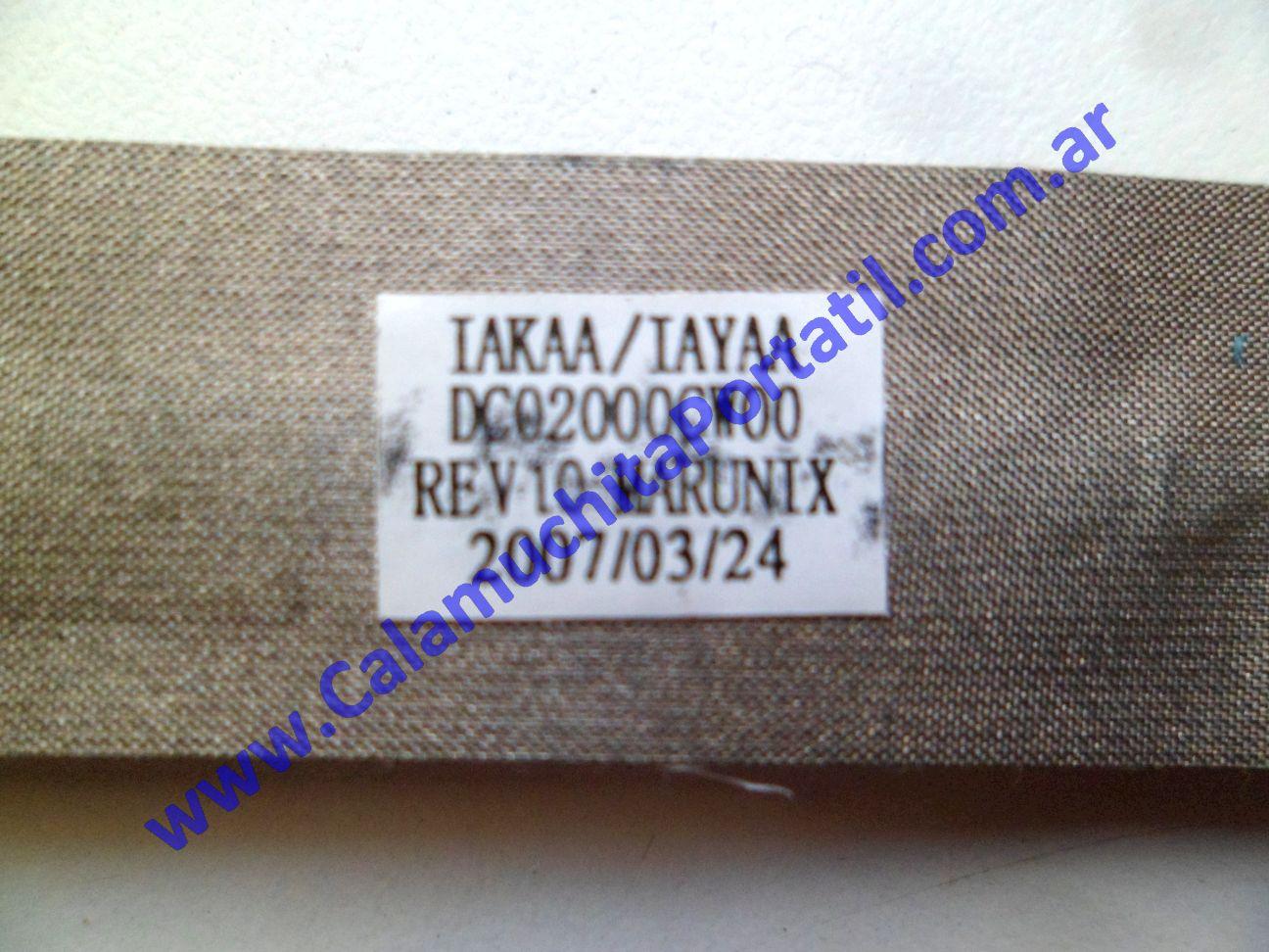 0623FVI Flex Video Toshiba A135-SP4088 / PSAD0U-05700L