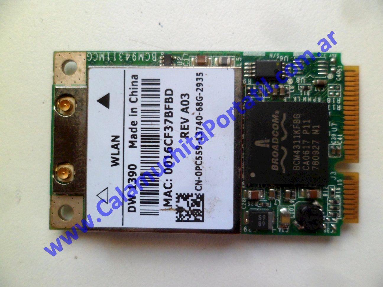 0623PWI Placa Wifi Toshiba A135-SP4088 / PSAD0U-05700L