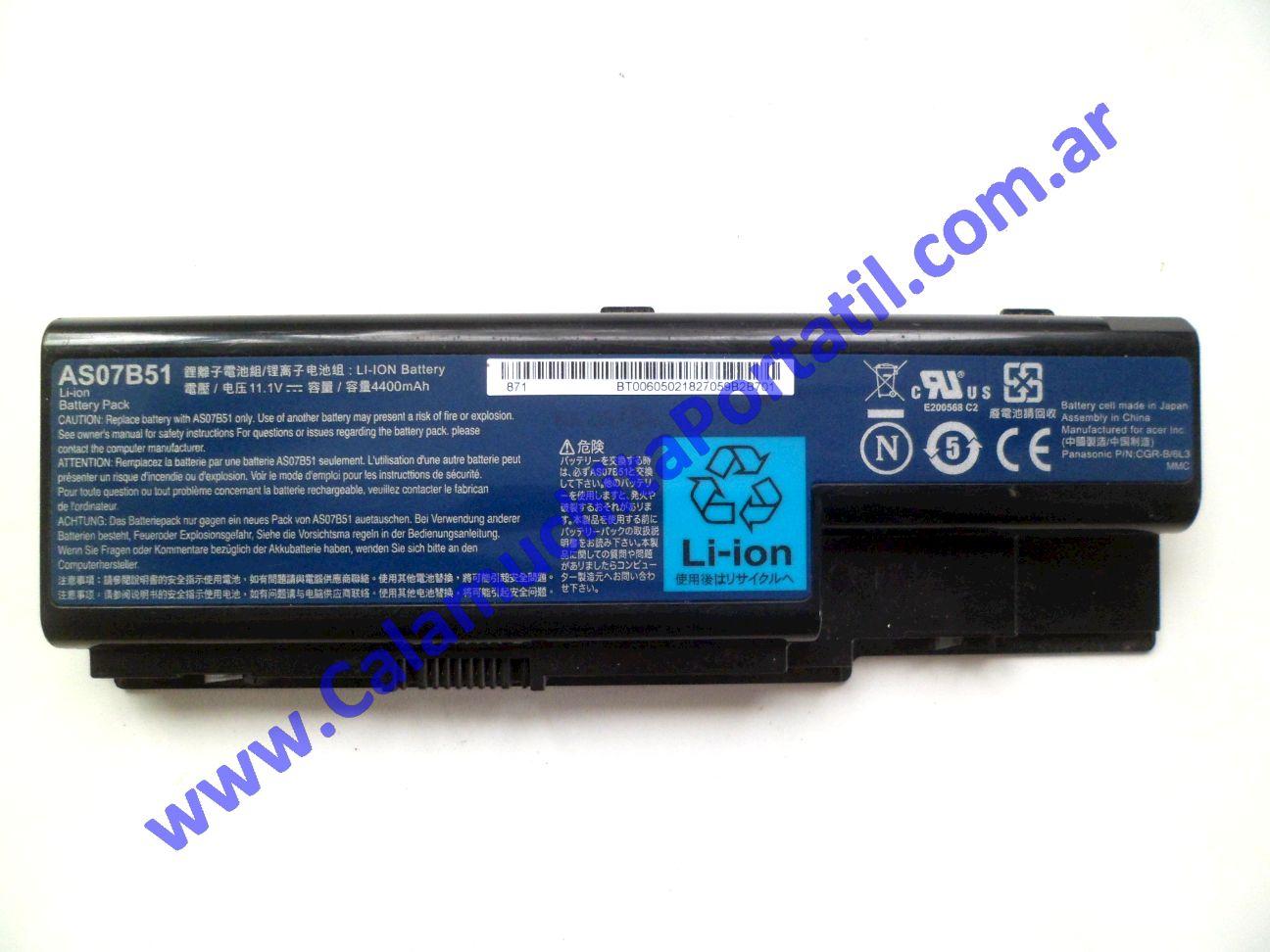 0624BAA Batería emachines E520 / KAWE0
