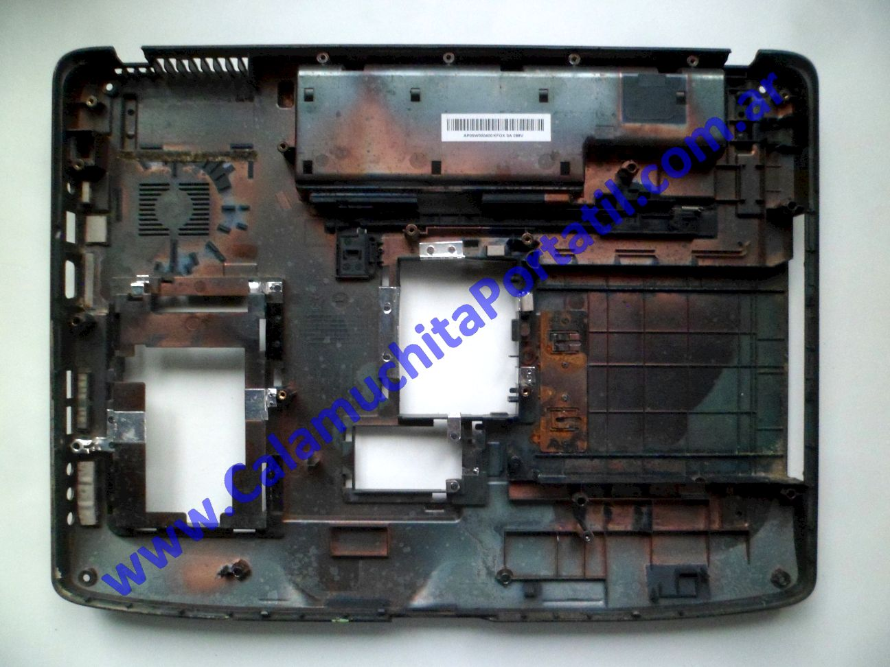 0624CAD Carcasa Base emachines E520 / KAWE0