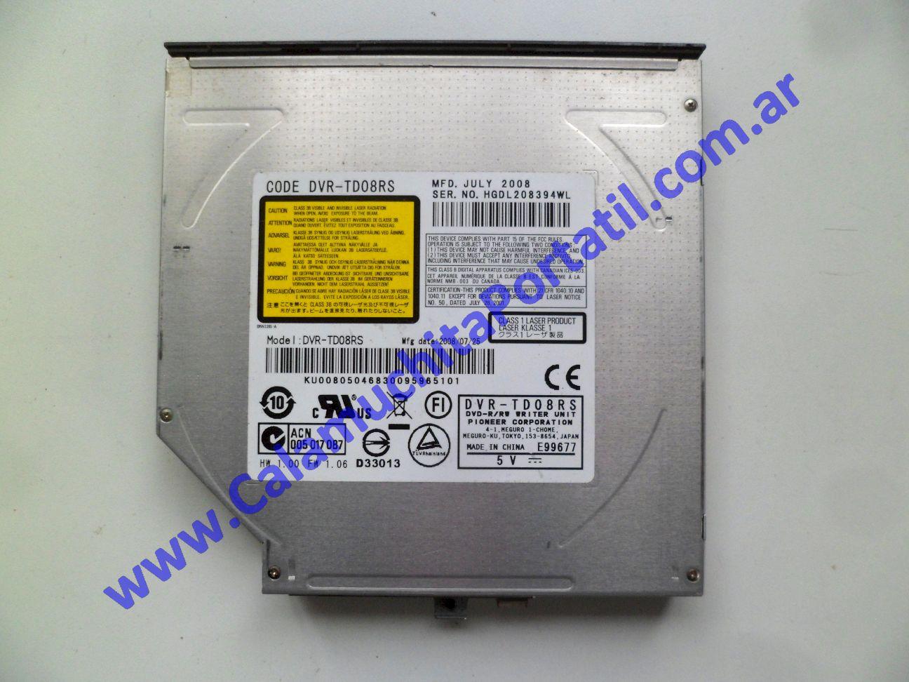 0624OPT Optico emachines E520 / KAWE0