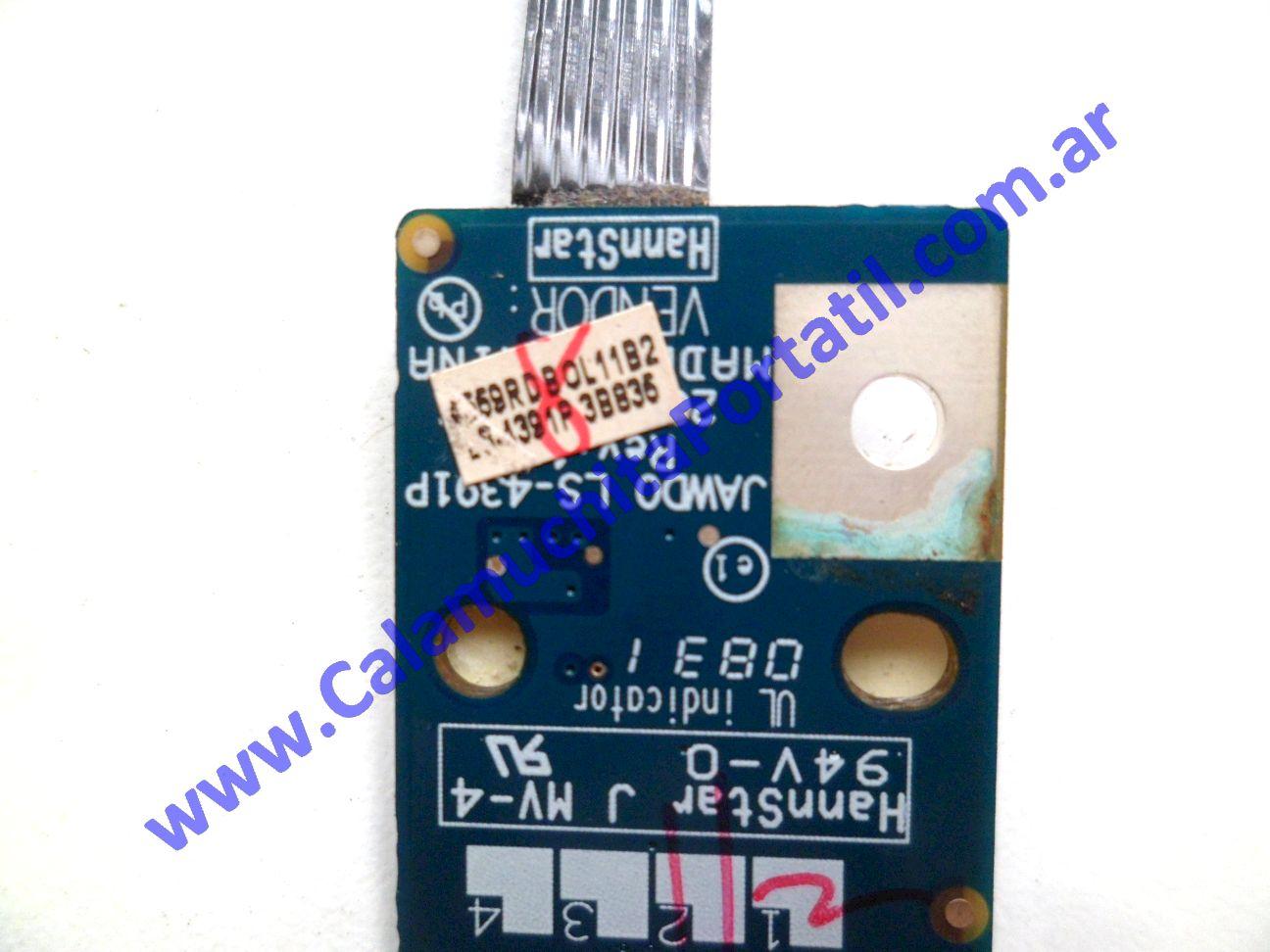 0624PEN Placa Encendido emachines E520 / KAWE0