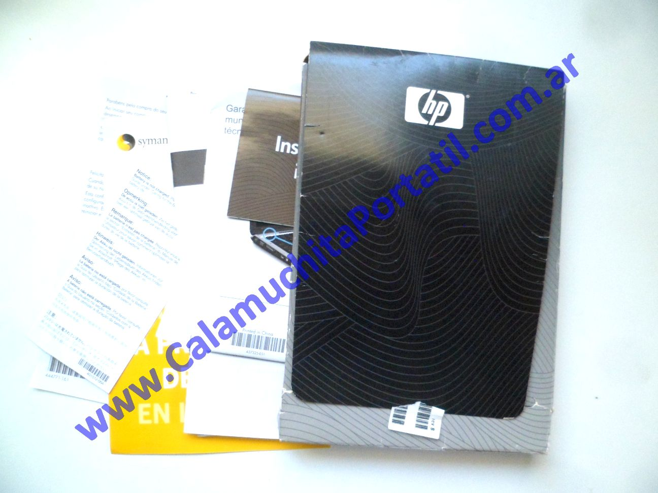 0625AMA Manual Hewlett Packard Pavillion dv2000 – dv2422la – GM690LA#AC8