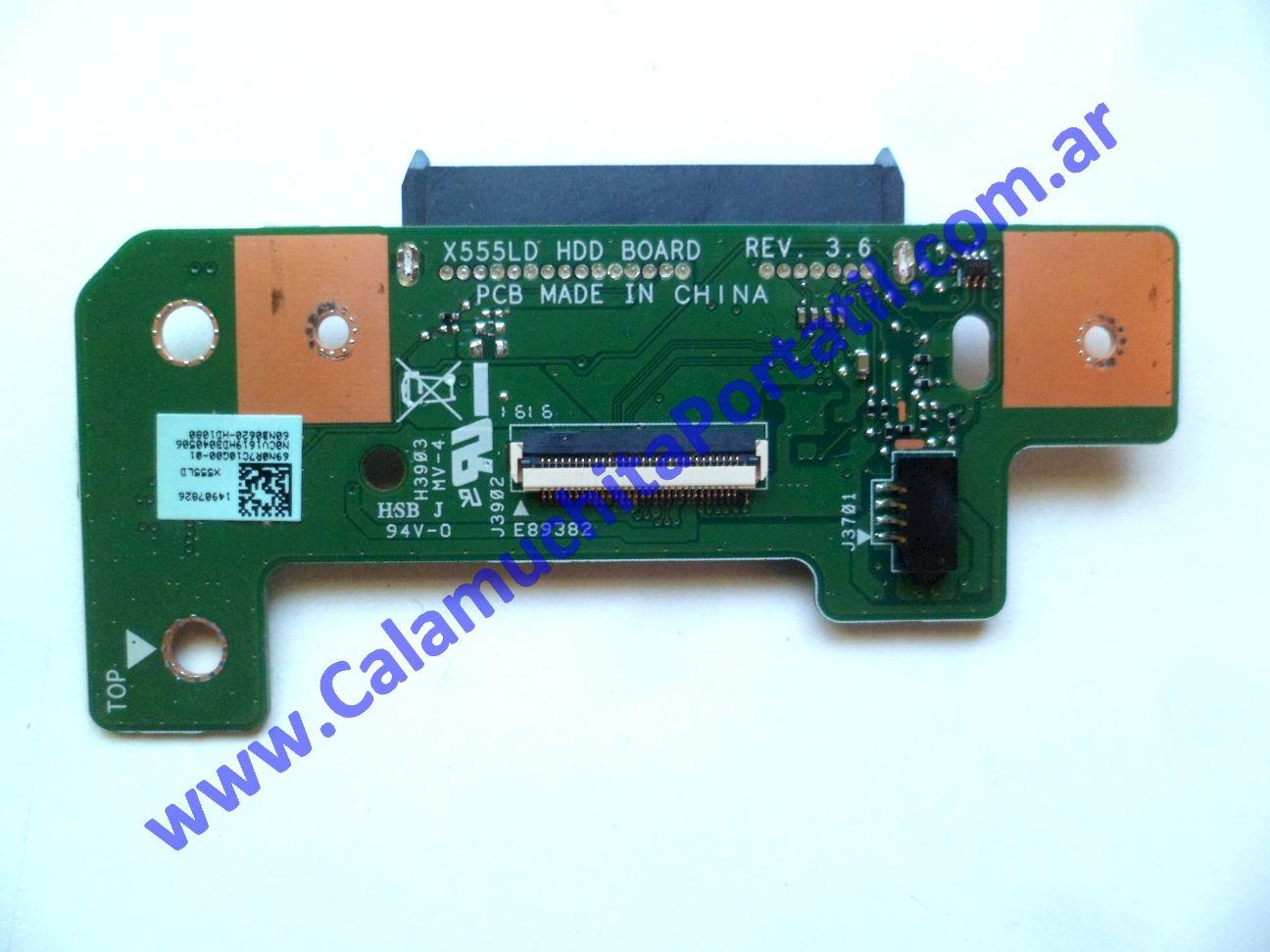 0628JRI Conector Rígido Asus F554L