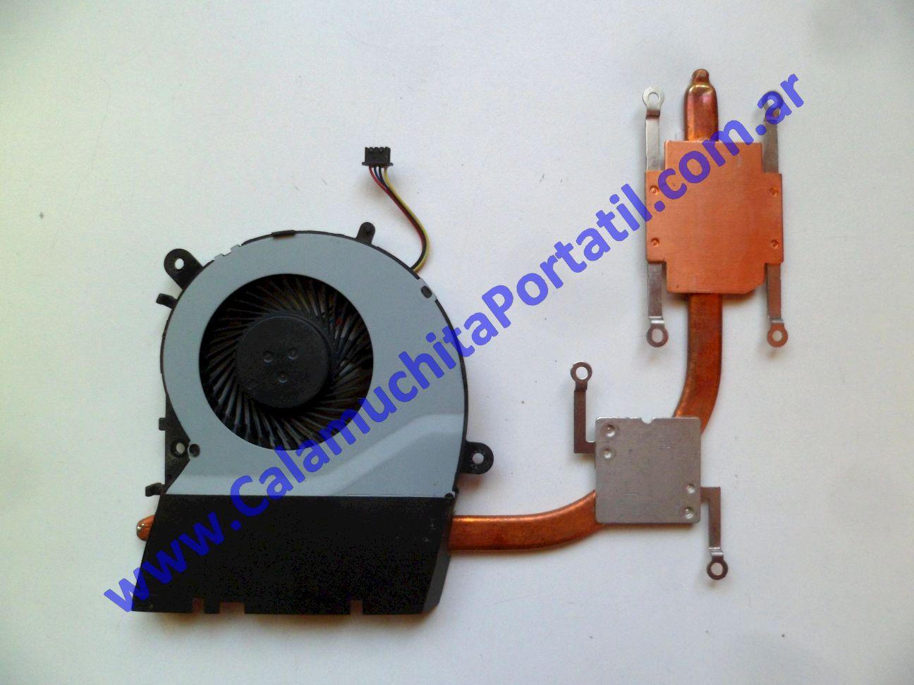 0628VDA Cooler C/Disipador Asus F554L